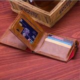 100% New High Quality Fashion Leather Men Wallet