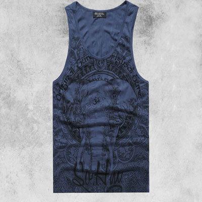 Men Tank Top Casual Fitness Singlets