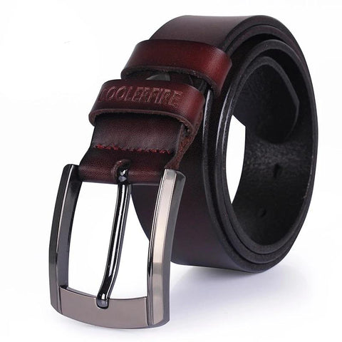 Men high quality genuine leather belt luxury design