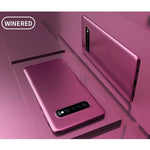 Newest Ultra Thin Case for Samsung Galaxy S10 S10 Plus S10 Lite Anti-fingerprint
