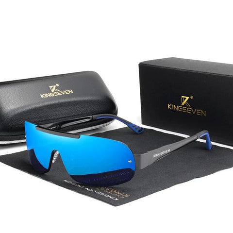 New Aluminum Sunglasses HD Polarized Integrated Lens