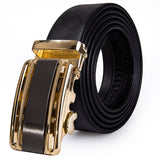Fashion High Quality Cowhide Genuine Leather Belt Automatic Buckle