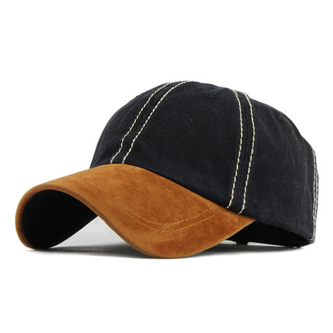 100% Washed Cotton Snapback Cap for Women Men