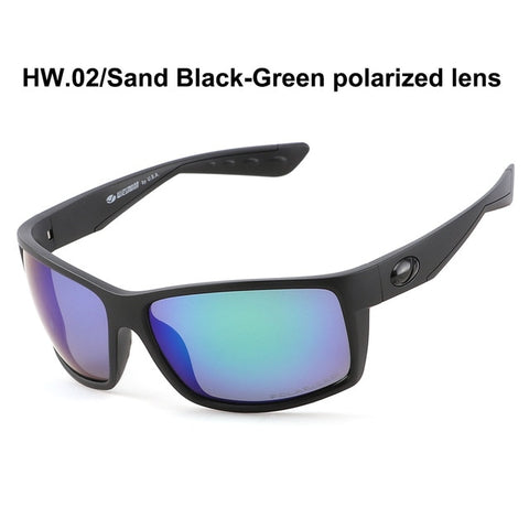 New Goggle Style Anti-Reflective Polarized UV400 Sunglasses