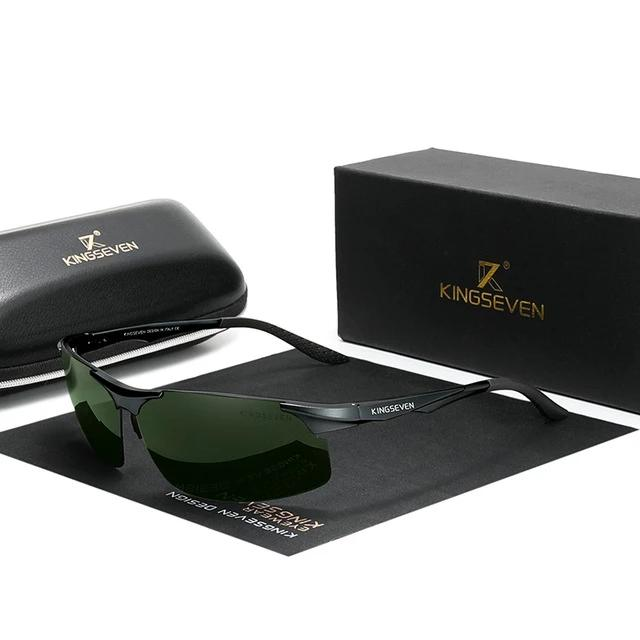 Aluminum Sunglasses with Advanced Resin High-definition Polarizing Lenses