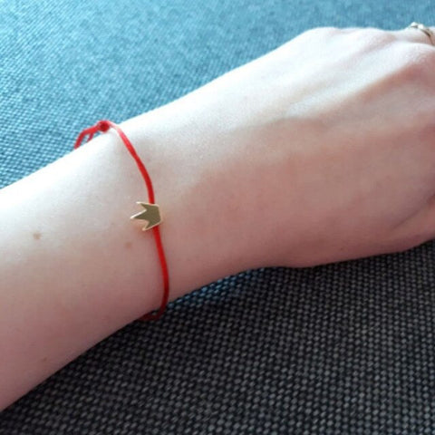 Family Wish Simple String Bracelet