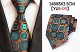 New Luxury Classic Business Design Floral Paisley Neckties