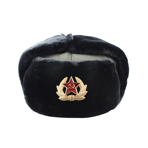 Russian Army Military Windproof Polyester Hat