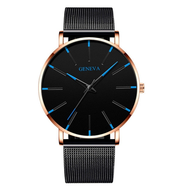 Luxury Fashion Minimalist Casual Analog Quartz Watch