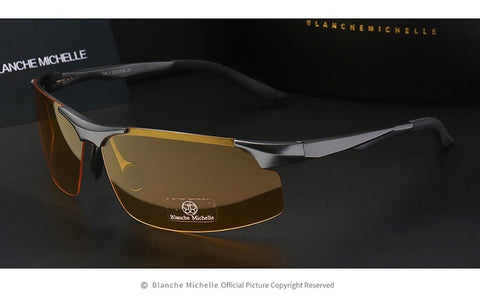 Men's Night Vision UV400 Polarized Sunglasses