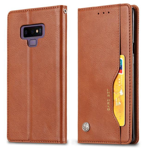 Samsung Galaxy Note 9 Case Wallet With Multi Card Holder Kickstand