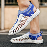 2020 Summer Fashion Breathable Sandal Handmade Weaving Design