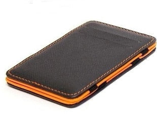 Perfect Tracking! Slim Male Magic Leather Wallet