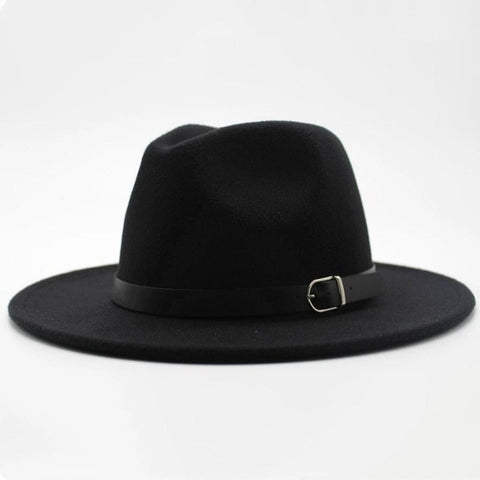 Imitation Woolen Fedora Top European American