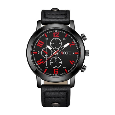 Fashion Creative Sport Quartz Watch