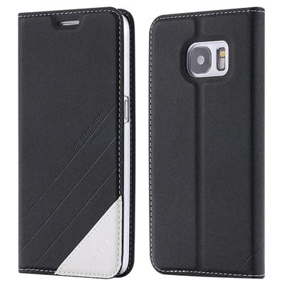For Samsung Galaxy S9 S9 Plus Note 9 Note 8 Edge Magnetic Wallet Card Slot Pouch