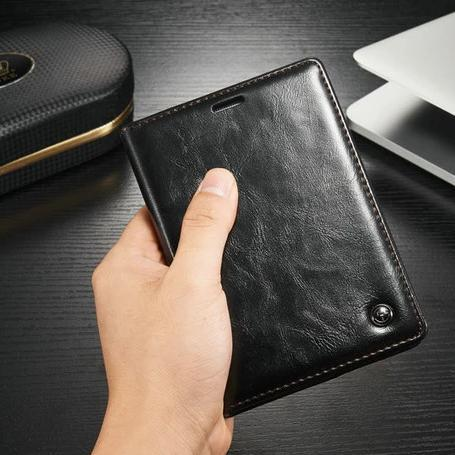 Leather Magnetic Stand Flip Card Cover For Blackberry Passport 2