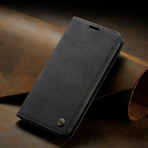 360 Magnetic Leather Wallet Case For Samsung Galaxy S10 Plus S10 Lite