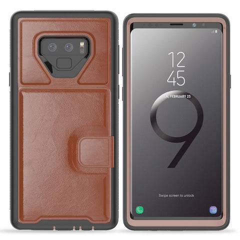 Magnetic Adsorption Multi-function Hard Frame Bumper For Galaxy Note 9 S9 S9 Plus