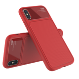Luxury Rear Glass Back Cover For iPhone X 8 7 6 6s Plus