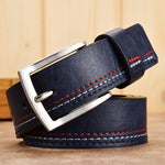 New Business Fashion Genuine Leather Leisure Pin Buckle Belt