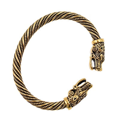 Vintage Retro Classic Dragon Head Viking Bracelets