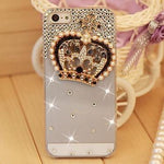 Luxury Rhinestone Diamond Case Cover For Apple Iphone 5 5S 4 4S SE 6 6S 7 7 Plus