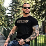 Bodybuilding Breathability Summer Casual Short Sleeve Tshirt