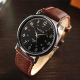 2020 New Fashion 24 hours Dial Waterproof Casual Business Men Watch