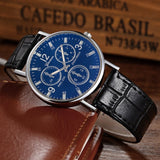 2020 High Quality Fashion Business Men Stainless Steel Quartz Wristwatch
