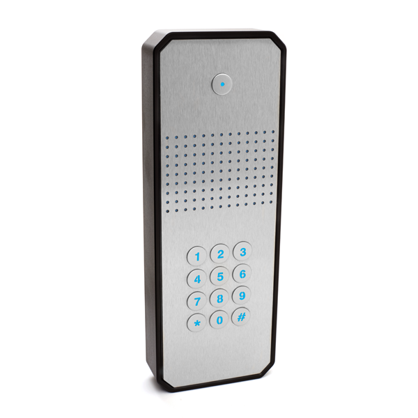 GSM intercom with keypad (3G) Architectural design 1 way for 1 property - Control Freq