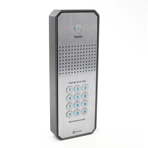 GSM intercom with keypad (3G) Architectural design for up to 200 properties