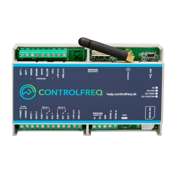 GSM Access Control System (4G) with Online User Management - Control Freq