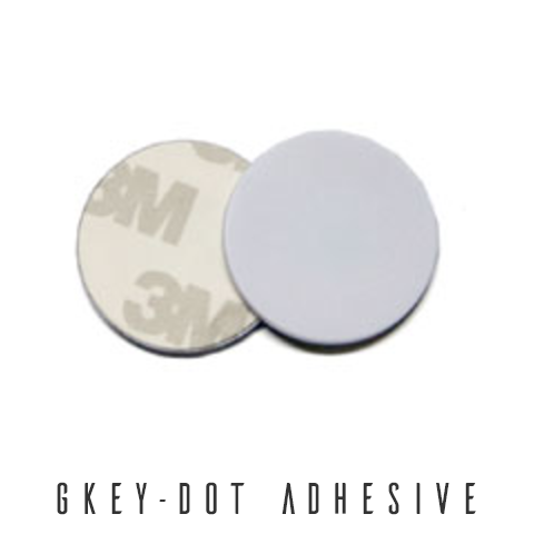 GKey-Dot Adhesive ID Access Tokens - Control Freq UK