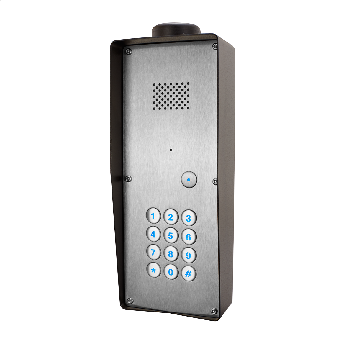 GSM Intercom with keyless entry (3G) Anti-vandal 1 way for 1 Property
