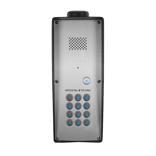 GSM Intercom with keypad (3G) Multi-way for up to 200 properties - Control Freq