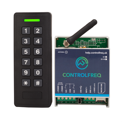 GSM Access Control (3G) by CallerID, PIN code & proximity fob (1 door)