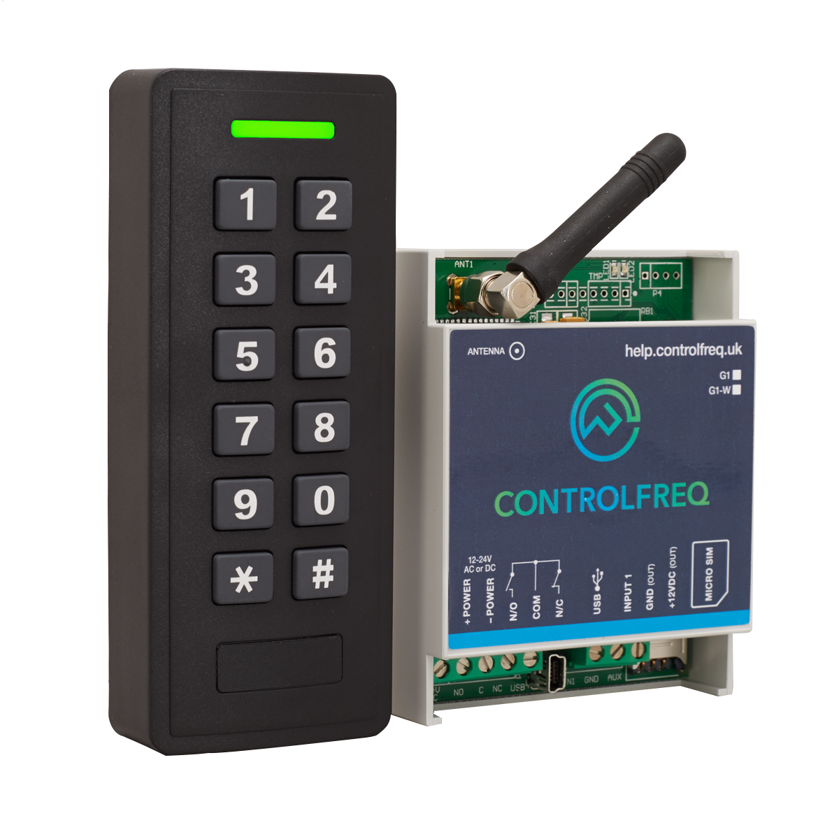 PIN•3G PIN Code Access with Remote User Management