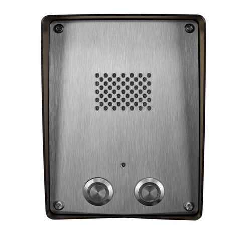 GSM Intercom (3G) Anti-vandal 2 way for 2 properties