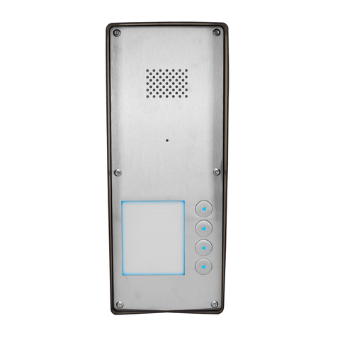 GSM Intercom (3G) Anti-vandal 4 way for 4 properties
