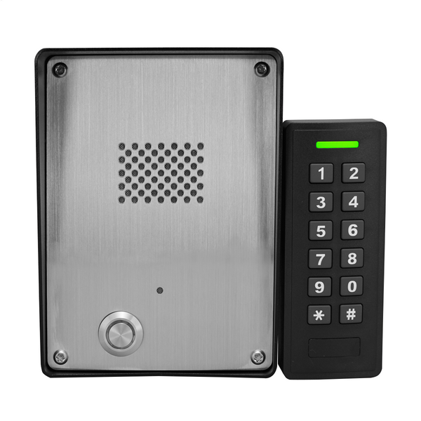 GSM Intercom with slave keypad (3G) remotely managed PIN codes - Control Freq