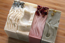 Load image into Gallery viewer, Organic Soaps - Bundle of Four