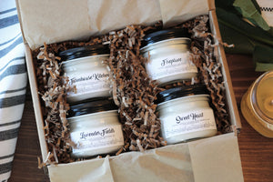 Farmhouse Small Mason Jar Pack - Bundle of Four