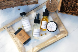 Organic Skincare Travel Set