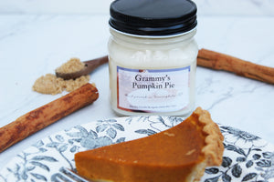Grammy's Pumpkin Soy Candle