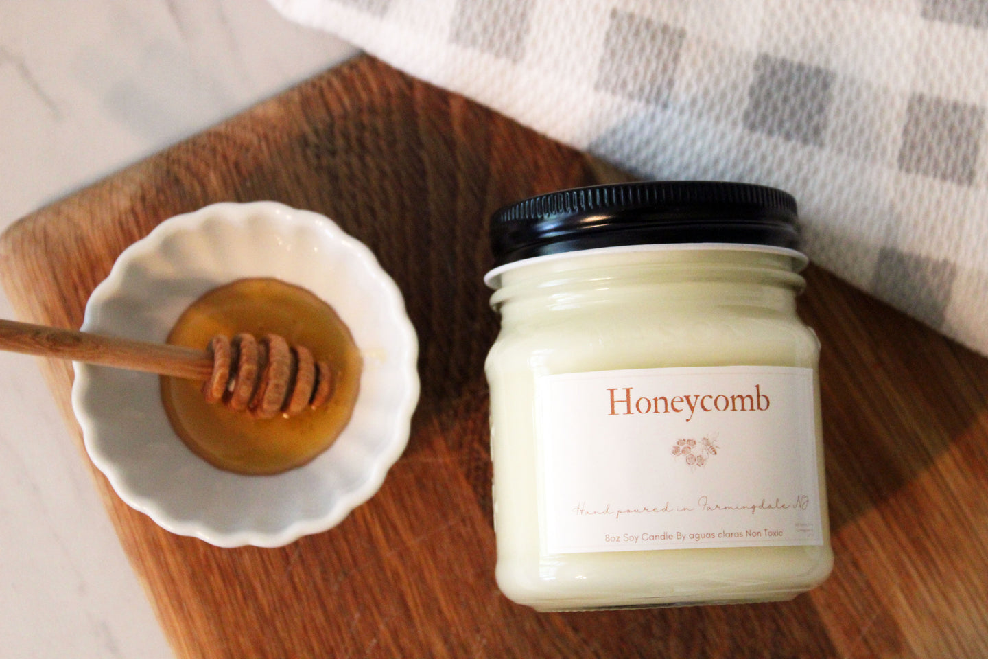 Honeycomb Soy Candle