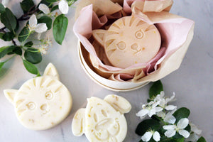 Baby Animal Soap - Bundle of Two in Wooden Box