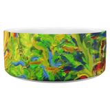 Wetlands 2 by Tocher (close up) - Dog Bowl