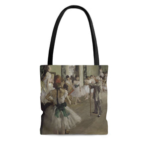 The Dance Class by Degas - Cloth Tote Bag