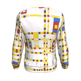 Broadway Boogie Woogie by Mondrian - Sweatshirt